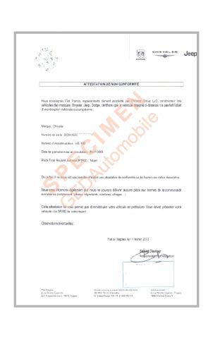 Certificat De Cession En Ligne : vente certificat de non conformit fiat en ligne ~ Maxctalentgroup.com Avis de Voitures